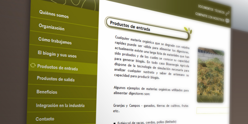 Bioenergía Agrícola