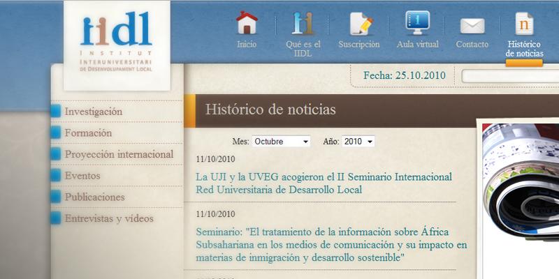 Instituto Interuniversitario de Desarrollo Local