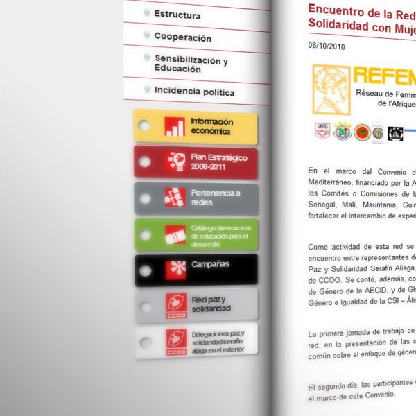 """Fundación Paz y Solidaridad """"Serafin Aliaga"""""""