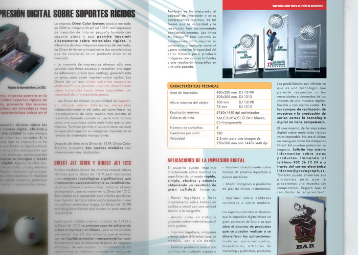 Revista Gravograph