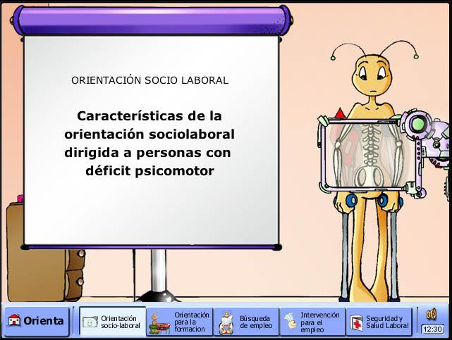 Orientación Laboral de personas discapacitadas