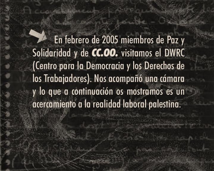 Trabajadores en Palestina
